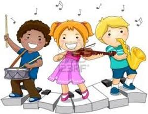 bambini che suonano